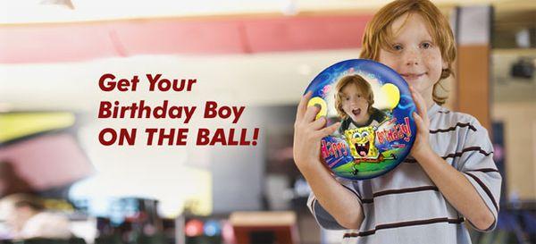 Custom bowling ball